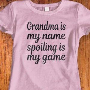 New Grandma Tshirt. 9 colors available