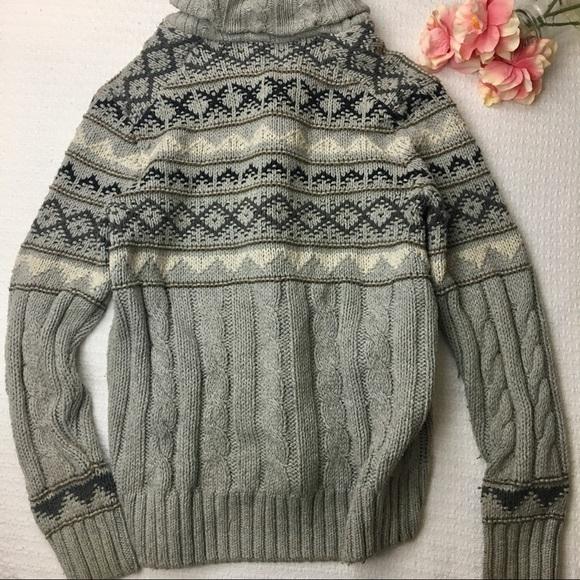 68% off GAP Other - 💎CCO SALE GAP long chunky knit fair isle ...
