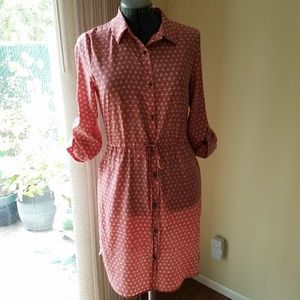 Maison Jules button down dress