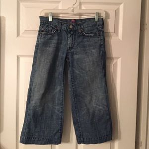 7 for All Mankind Cropped Dojo Jeans
