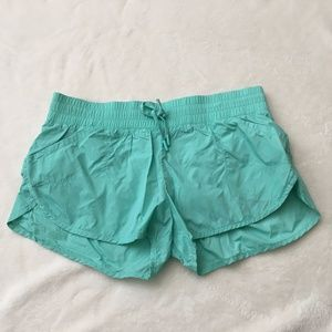 Lorna Jane Mint Teal Run Shorts