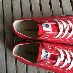 Converse Shoes - ❤️SOLD❤️Red Converse All Stars Sneakers