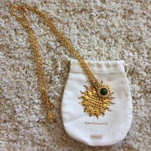 COACH necklace-Tony Duquette partnership