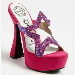Jeffrey Campbell Pink Starski Sandal