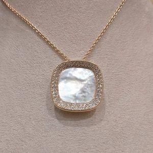 Roberto Coin Mother of Pearl Diamond Pendant