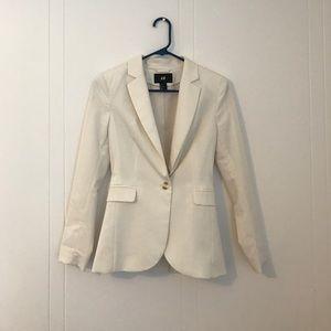H&M White Blazer - 2