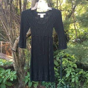 Max Studio 3/4 Sleeve Sweater Dress