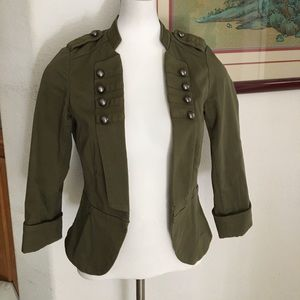 H&M Military Style Jacket Blazer