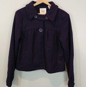 Levis Tab Twill Womens Purple Jacket Size Medium