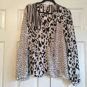 Cabi Printed blouse
