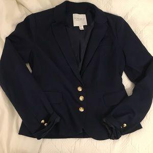 Navy Blue Forever 21 Blazer