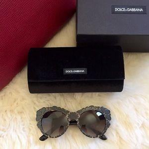 Dolce & Gabbana DNA Oversized Sunglasses