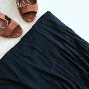 Sophie Max | navy maxi skirt