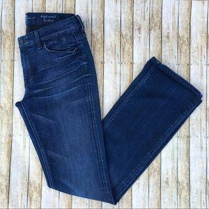 7FAM High Waisted Bootcut Jeans