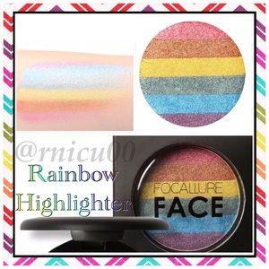 🆕Rainbow Unicorn Face Highlighter!