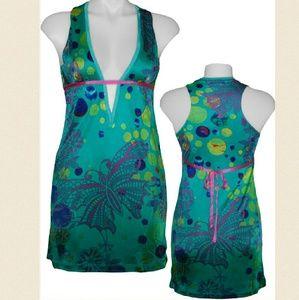 New custo barcelona cotito tama butterfly dress 2
