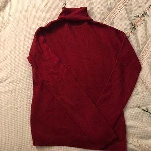 LOFT Wool turtleneck Sweater
