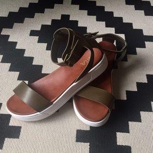 MIA Ellen Olive Sandals