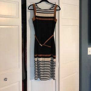 White House Black Market Dress with belt