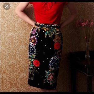 Anthropologie Yoana Baraschi Peppering Skirt | New