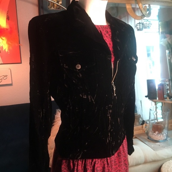 Coldwater Creek Jackets & Blazers - Coldwater creek crushed velvet jacket and dress