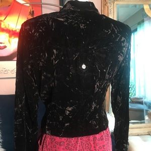 Coldwater Creek Jackets & Coats - Coldwater creek crushed velvet jacket and dress