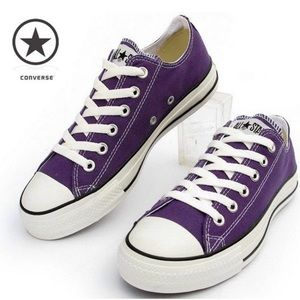 Converse All Stars | Purple Sneakers