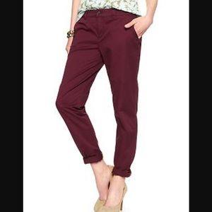 GAP broken-in straight chino pants