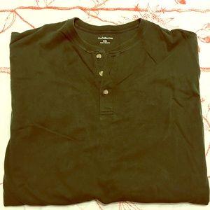 Croft & Barrow Long Sleeve Henley Shirt