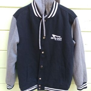 In and Out collecters Varsity jacket