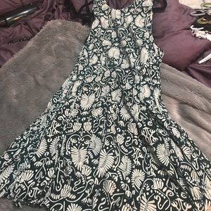 HM printed dress Size 12