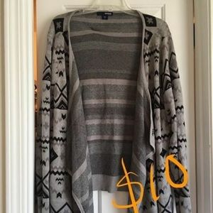 Sweaters - Open Cardigan