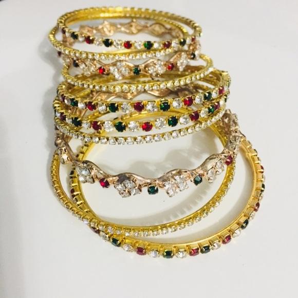 antique indian bangles