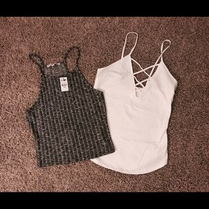 Two NWT Express Tank Tops