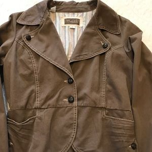 "Brown ""khaki"" jacket"