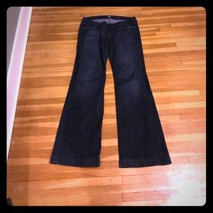 Front Panel 7 For All Mankind Maternity Jeans