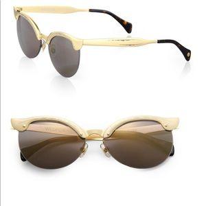 Wildfox gold crybaby sunglasses