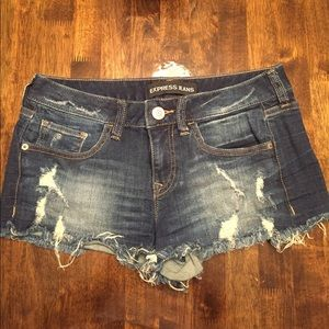 Jean shorts from Express size 4
