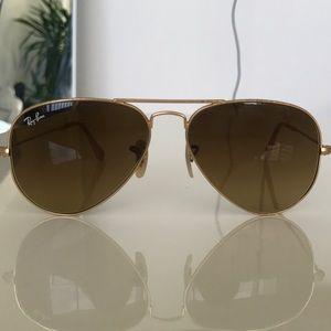 Original Gold Tone Raybans (smaller frames)