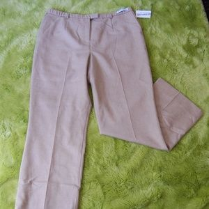 Pendleton Tan Wool Lined Trouser sz 18 NEW