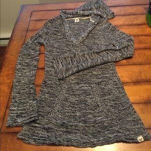 Roxy hooded sweater. Sz XL