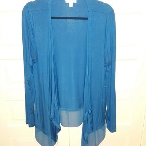 Fly away cardigan size Large
