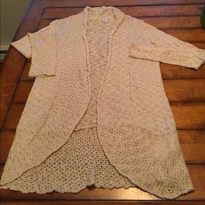 Roxy cardigan style sweater. Sz Med