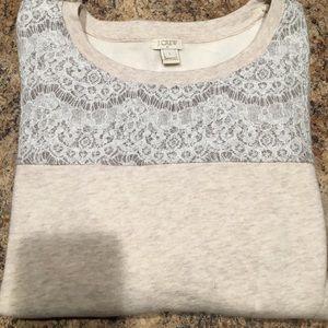 J Crew Sweat Shirt