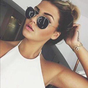 "Brow Bar ""Rebecca"" Circle Sunglasses"