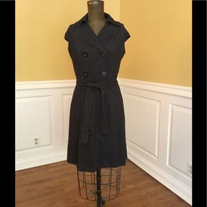 Black Dress with Buttons