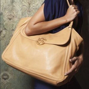 Authentic Tory Burch Amanda Slouchy tote