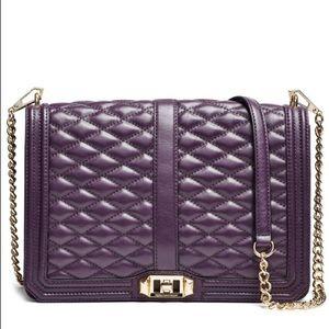 Rebecca Minkoff Aubergine Love Jumbo Bag
