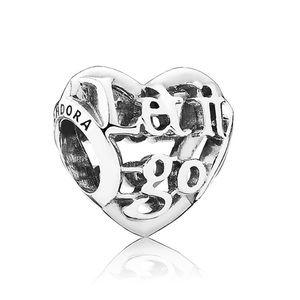 Pandora Disney Let it go silver charm