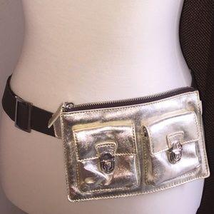 Metallic Belt Bag